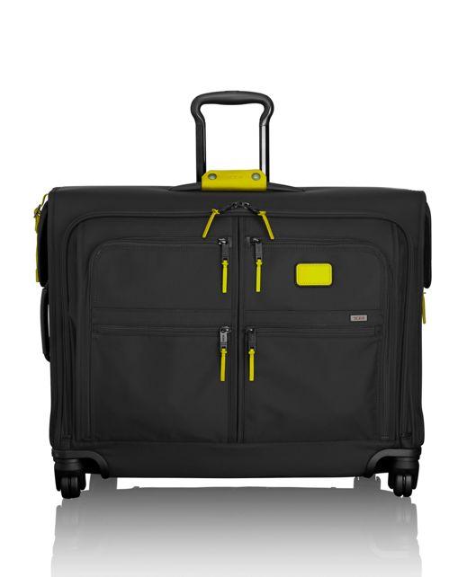 4 Wheeled Medium Trip Garment Bag in Citron