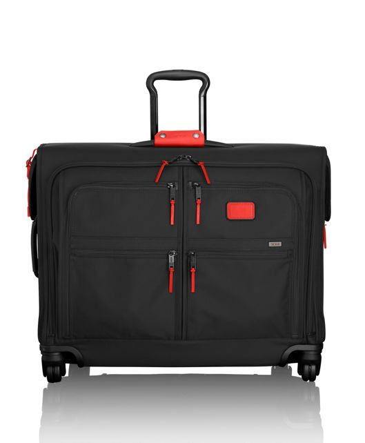 4 Wheeled Medium Trip Garment Bag in Charcoal Restoration