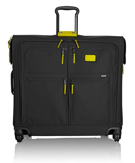 4 Wheeled Extended Trip Garment Bag in Citron