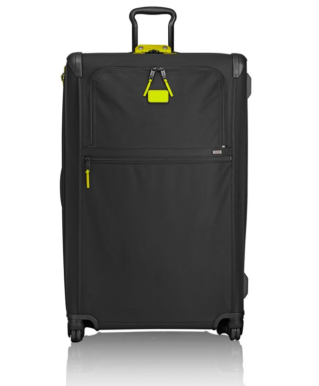 Worldwide Trip Expandable 4 Wheeled Packing Case in Citron