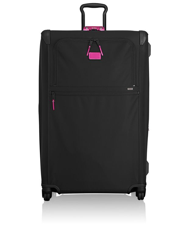 Worldwide Trip Expandable 4 Wheeled Packing Case in Metallic Pink