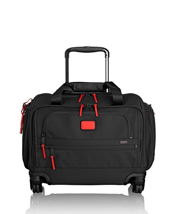4 Wheeled Compact Duffel in Cherry