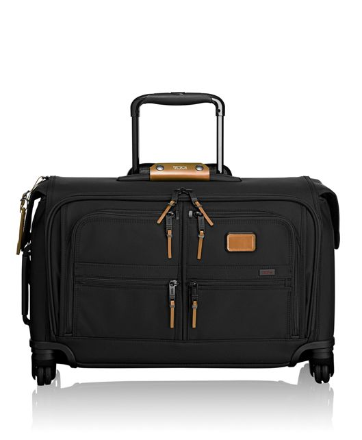 Carry-On 4 Wheeled Garment Bag in Metallic Bronze