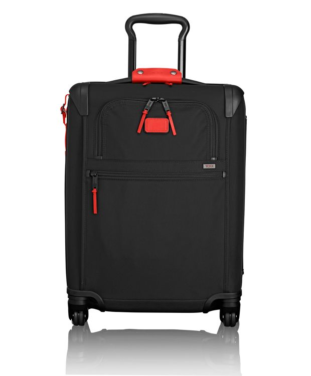 International 4 Wheeled Slim Carry-On in Charcoal Restoration