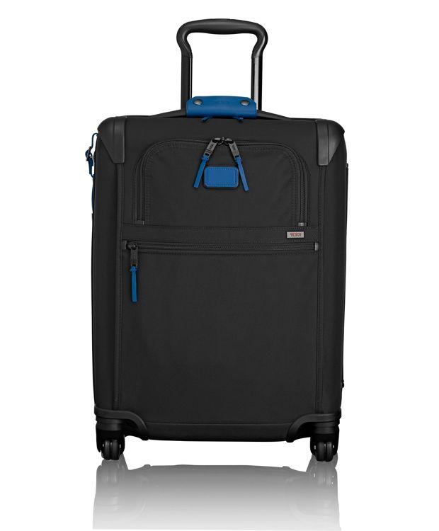 International 4 Wheeled Slim Carry-On in Atlantic