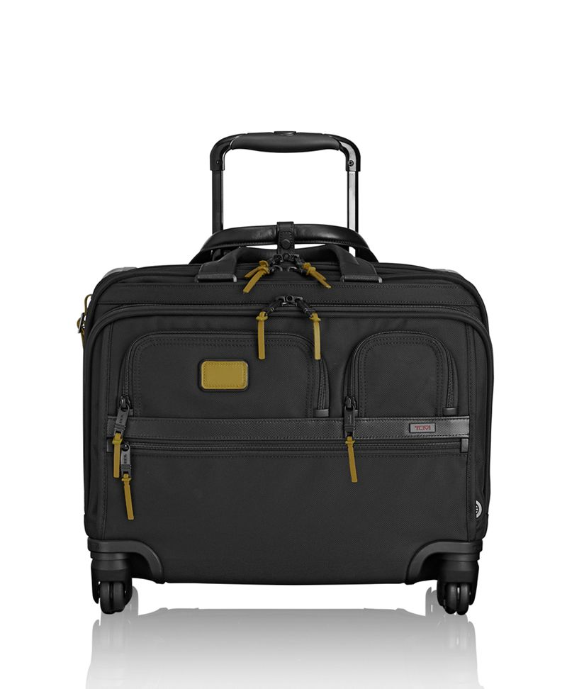 4 Wheeled Deluxe Brief with Laptop Case