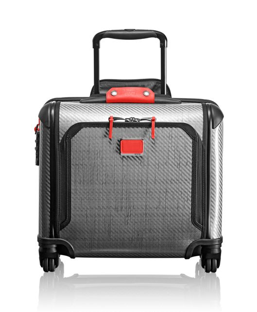 Tegra-Lite® Max Carry-On 4 Wheeled Briefcase in Charcoal Restoration