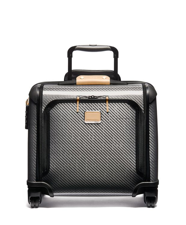 Tegra-Lite® Max Carry-On 4 Wheeled Briefcase in Grey Highlands Print