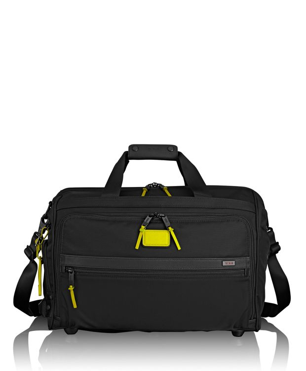 Framed Soft Duffel in Citron