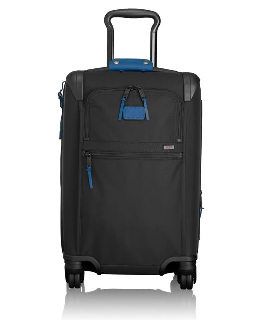 International Expandable 4 Wheeled Carry-On in Atlantic