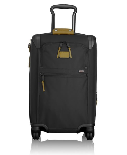 International Expandable 4 Wheeled Carry-On in Green Camo