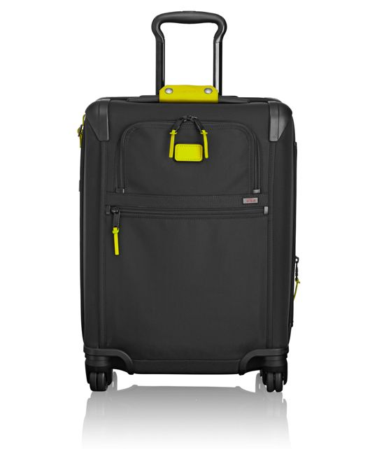 Continental Expandable 4 Wheeled Carry-On in Citron