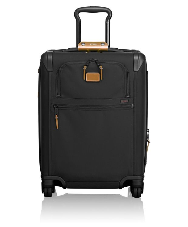 Continental Expandable 4 Wheeled Carry-On in Metallic Bronze