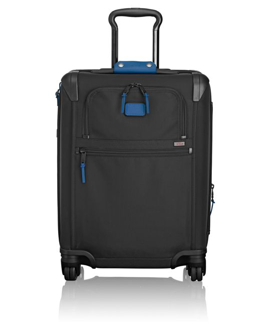 Continental Expandable 4 Wheeled Carry-On in Atlantic