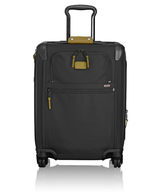 Continental Expandable 4 Wheeled Carry-On in Green Camo