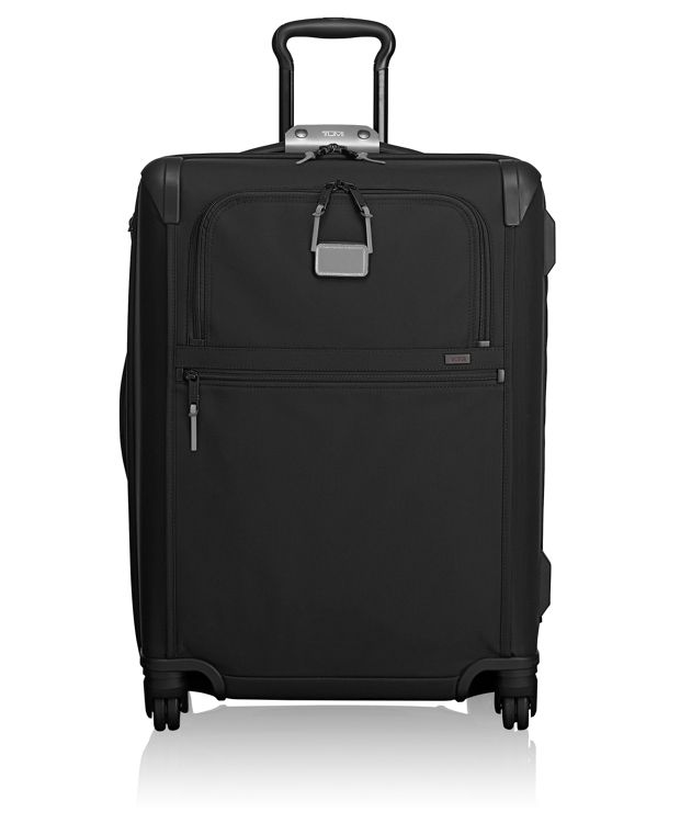 Short Trip Expandable 4 Wheeled Packing Case in Metallic Silver