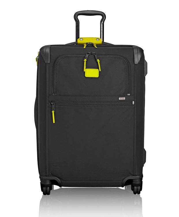 Short Trip Expandable 4 Wheeled Packing Case in Citron