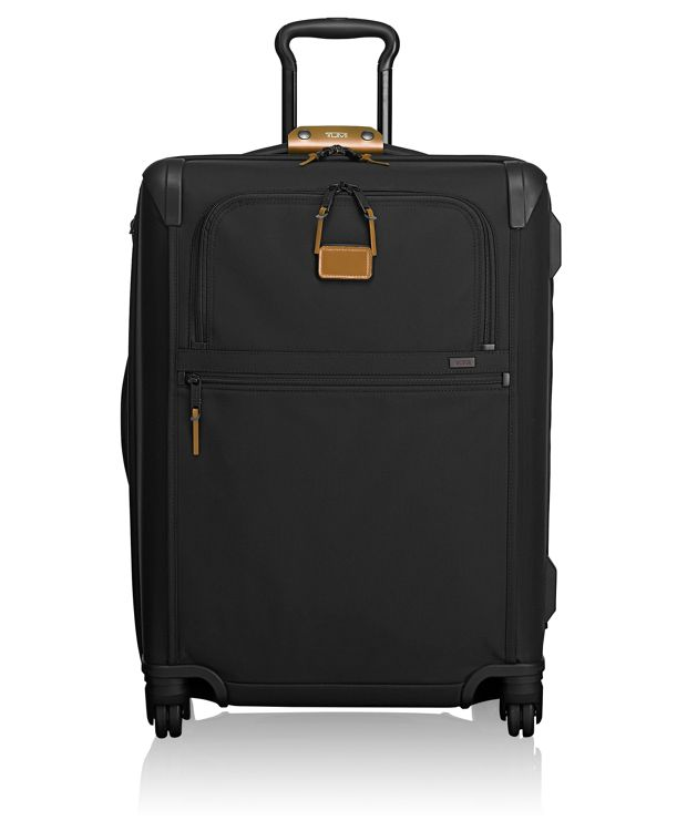 Short Trip Expandable 4 Wheeled Packing Case in Metallic Bronze