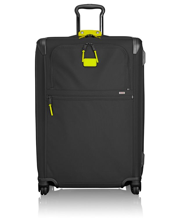 Medium Trip Expandable 4 Wheeled Packing Case in Citron