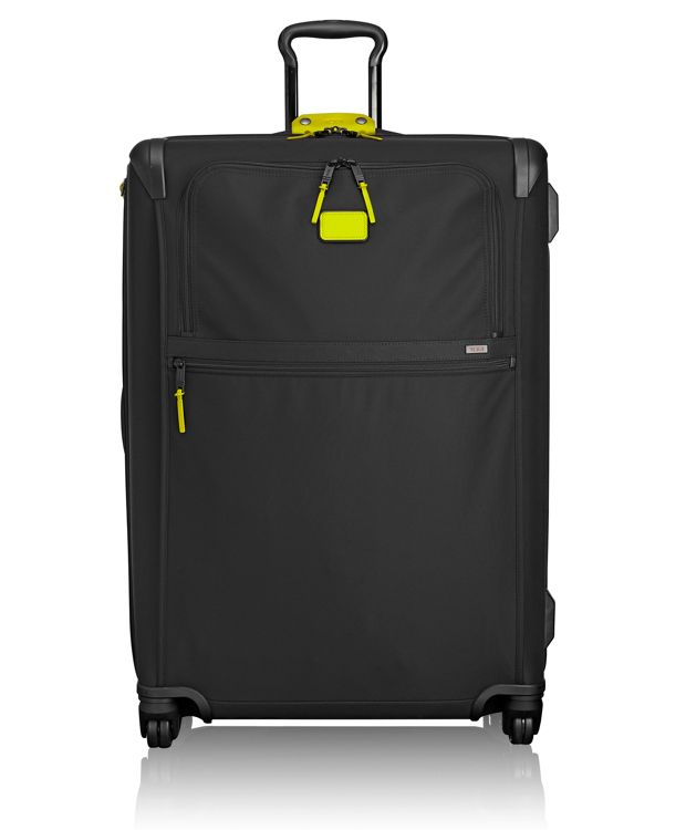 Extended Trip Expandable 4 Wheeled Packing Case in Citron
