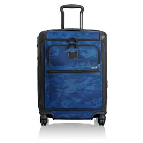 cdc2d59f17 Continental Expandable 4 Wheeled Front Lid Carry-On in Navy Restoration