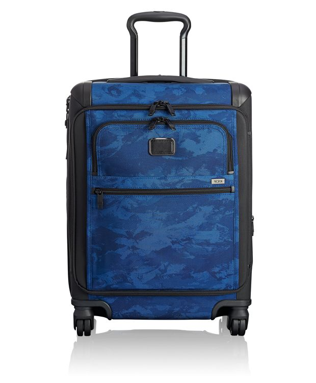 Continental Expandable 4 Wheeled Front Lid Carry-On in Navy Restoration