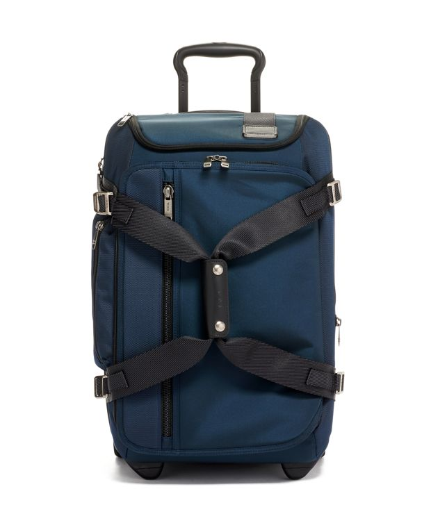 Wheeled Duffel Carry-On in Navy