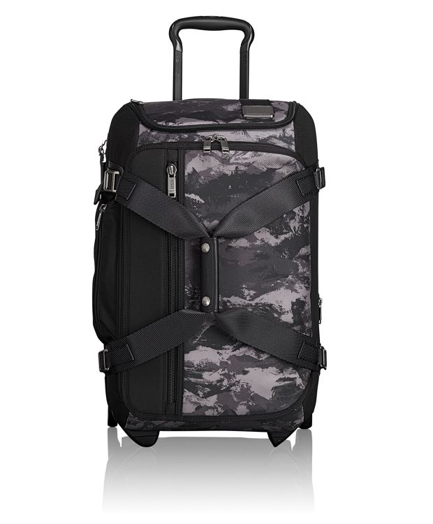 Wheeled Duffel Carry-On in Charcoal Restoration