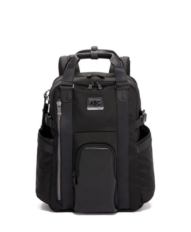 Kings Backpack Tote in Black