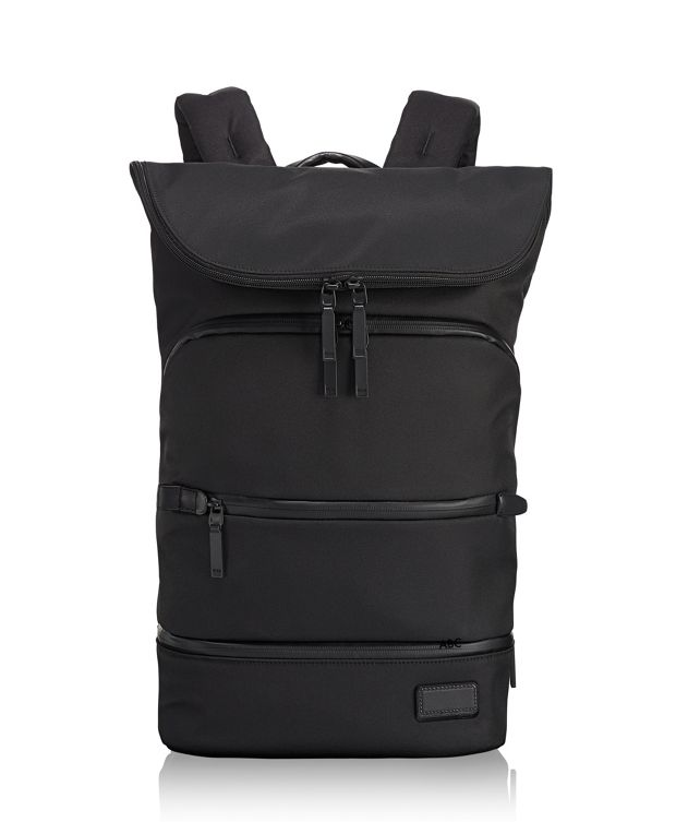 Forest Flap Backpack in Black