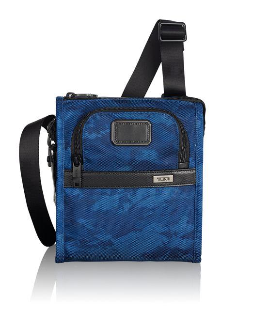 Pocket Bag Small in Navy Restoration