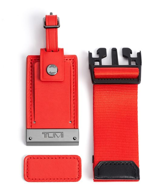 PERSONALIZATION KIT Red - large | Tumi Thailand