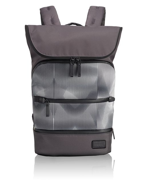 Forest Flap Backpack in Digital Tide