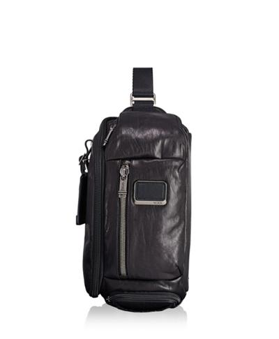 a7123c95da8eee Kelley Sling Leather - Alpha Bravo - Tumi United States - Black Leather