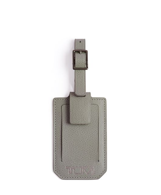 Luggage Tag in Elephant Grey