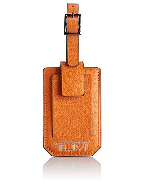 Luggage Tag in Orange