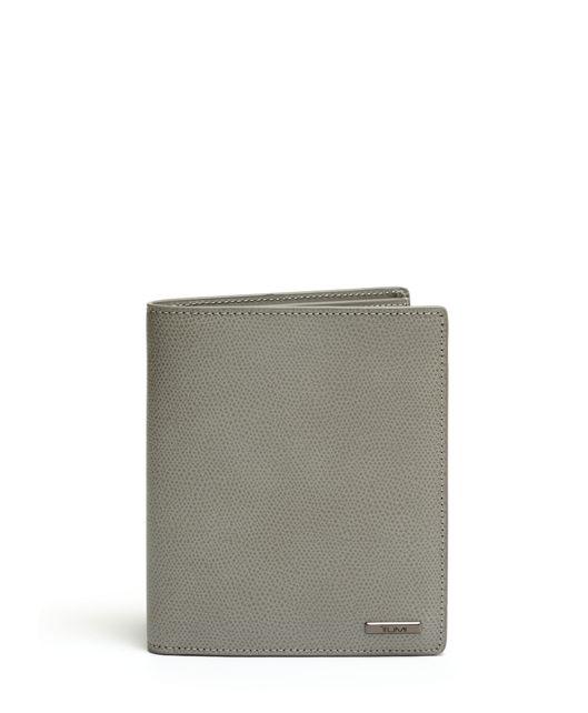 Passport Case in Elephant Grey