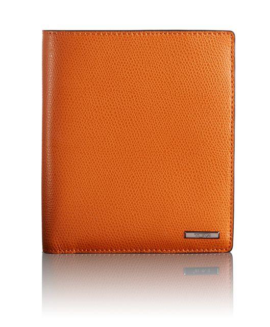 Passport Case in Orange