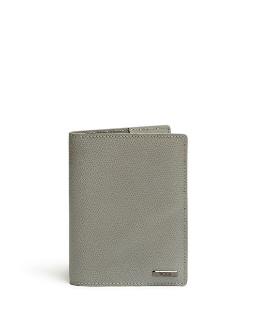 Passport Cover in Elephant Grey
