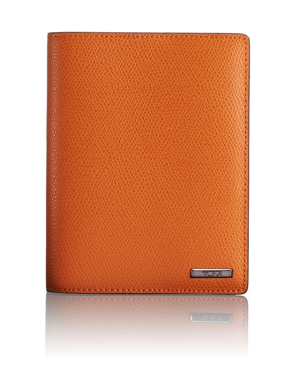 Passport Cover in Orange