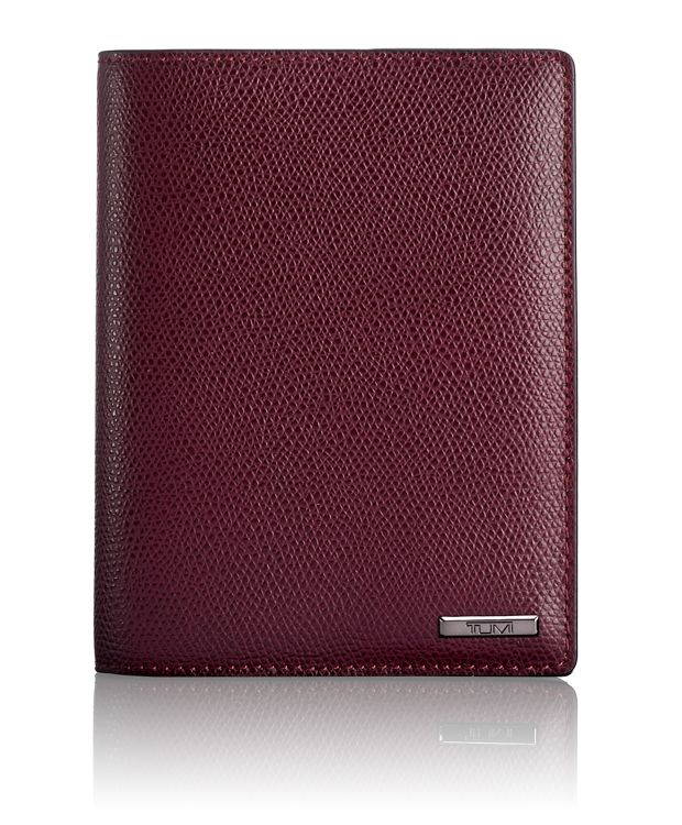 Passport Cover in Maroon