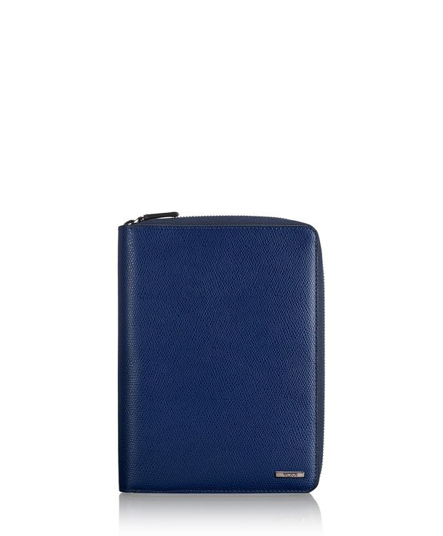 Family Passport Case in Blue