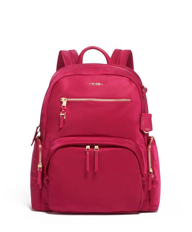Carson Backpack in Raspberry