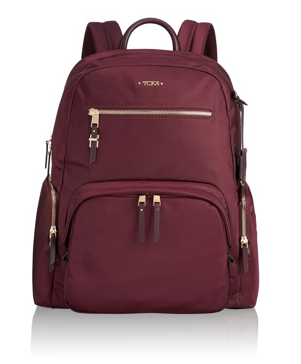 Carson Backpack in Maroon