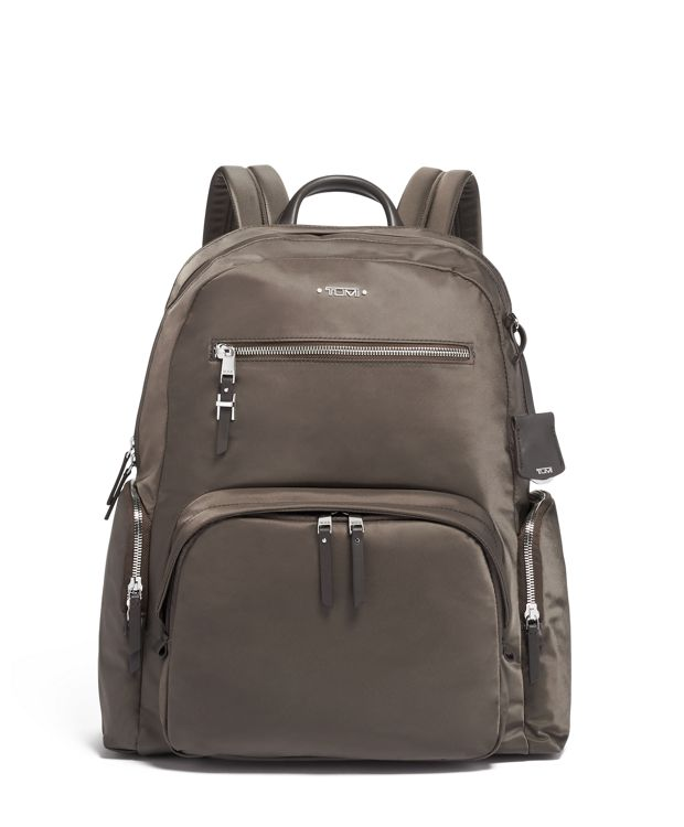 Carson Backpack in Mink/Silver