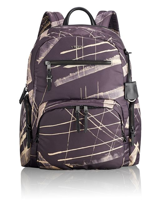 Carson Backpack in Line Print