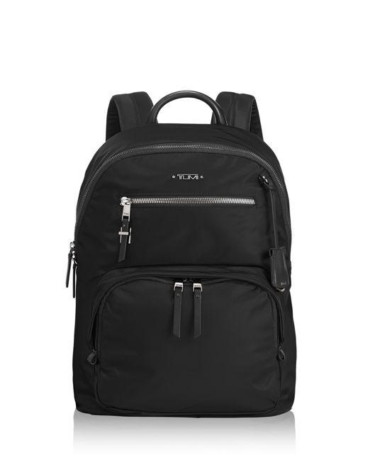 Hagen Backpack in Black/Silver