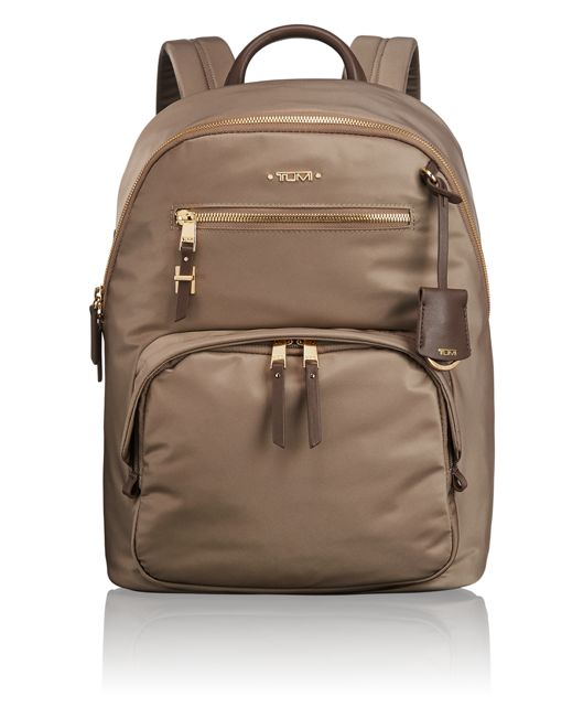 Hagen Backpack in Fossil