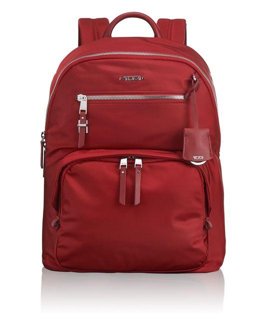 Hagen Backpack in Crimson