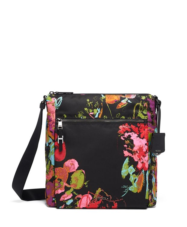 Canton Crossbody in Collage Floral